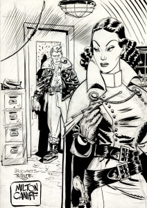 Tribute to Milton Caniff